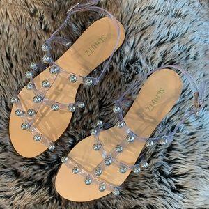SCHUTZ- Yarin Flat Sandal